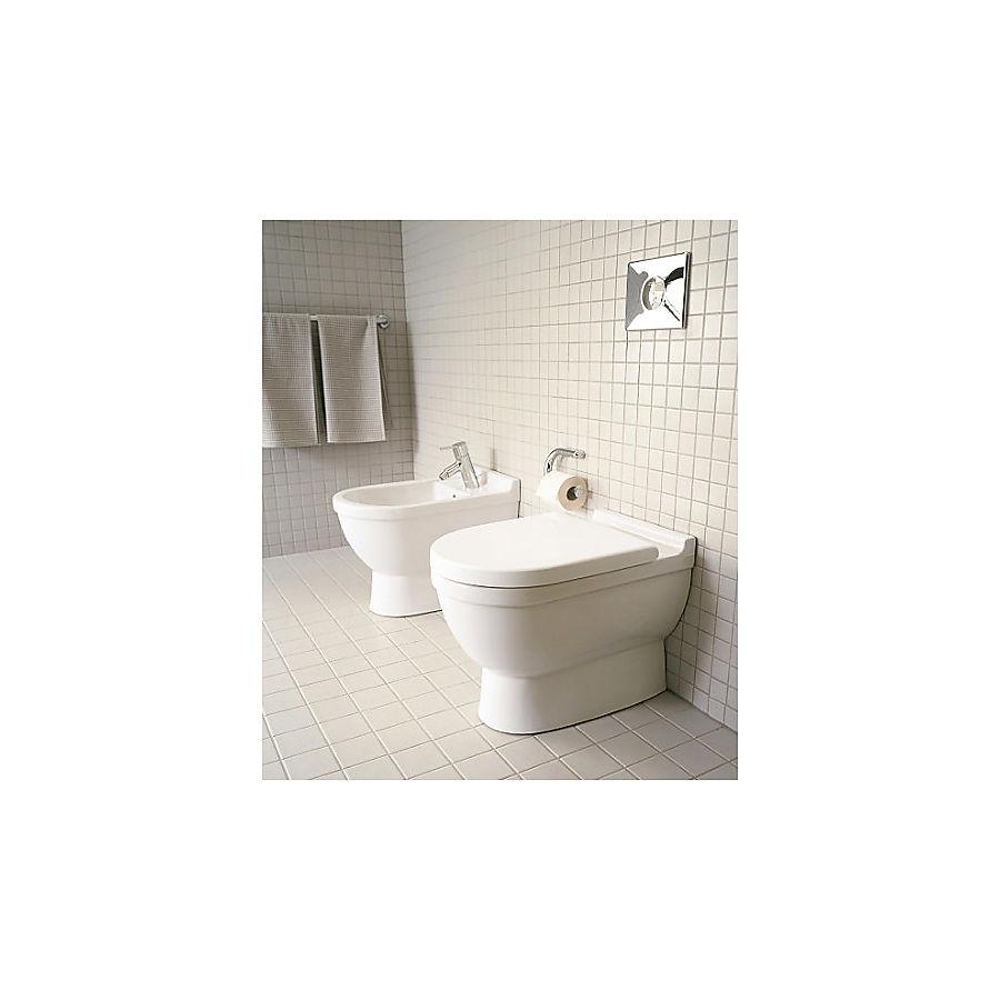 Duravit Starck 3 Gulvstående toalett 360x560 mm. Universalt avløp