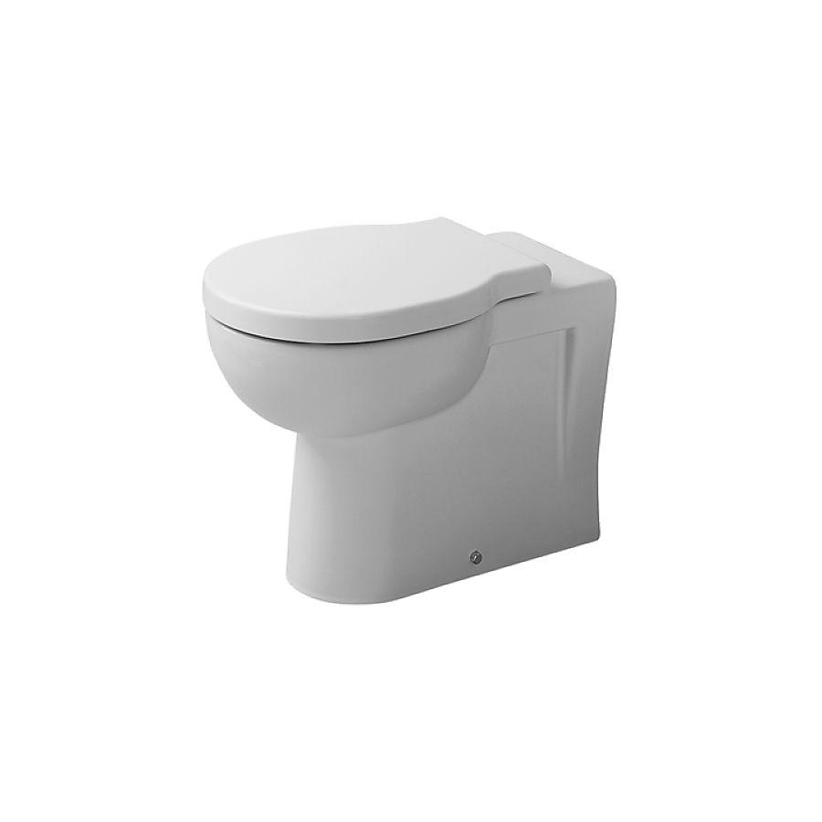 Duravit Foster Gulvstående toalett 360x570 mm Vannr.avl. Hvit WonderGliss