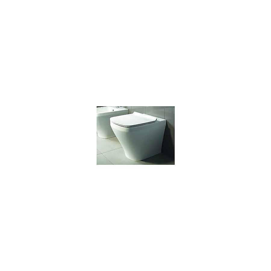 Duravit Durastyle Gulvstående toalett 370x540 mm m/skjult feste