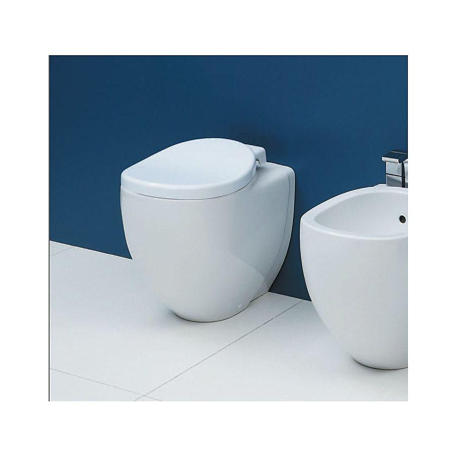 Flaminia IO Gulvstående toalett 530x340 mm Hvit