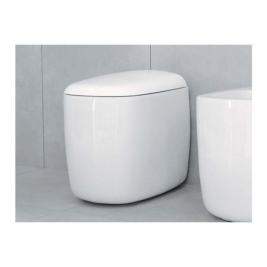 Flaminia Mono Gulvstående toalett 350x520 mm Sort