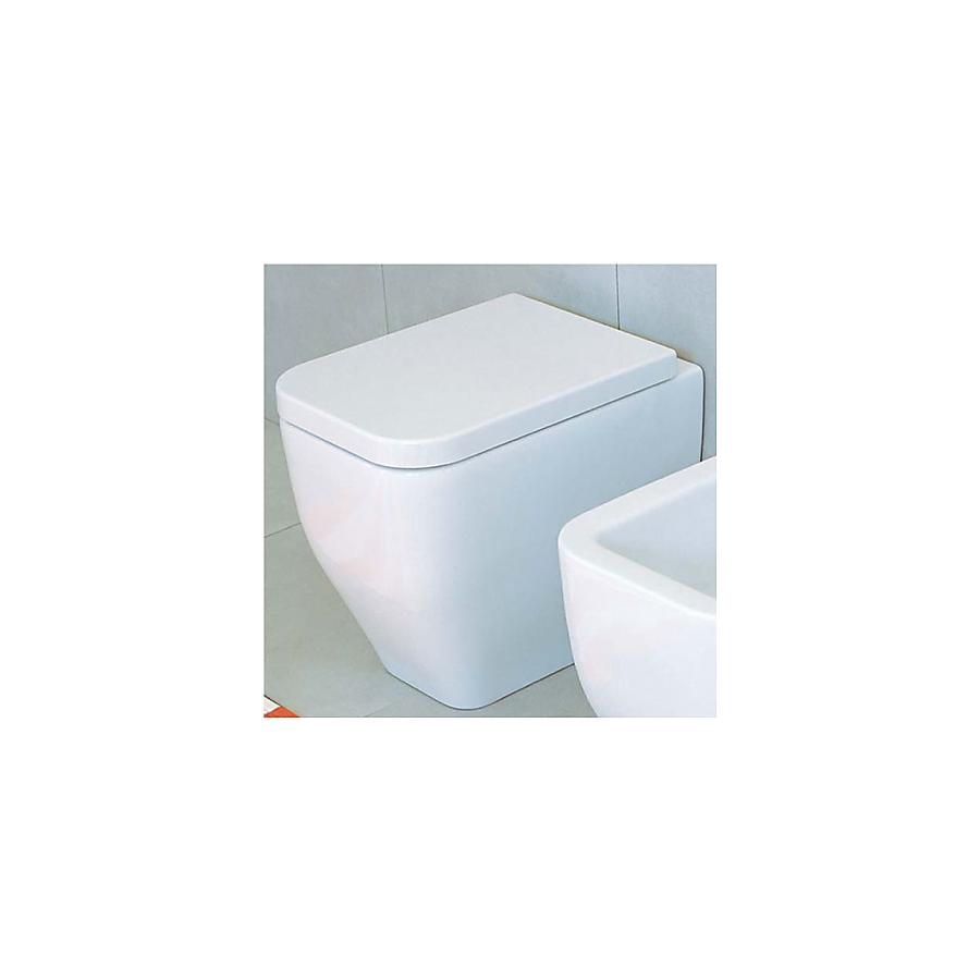 Flaminia Terra Gulvstående toalett 360x530 mm Sort