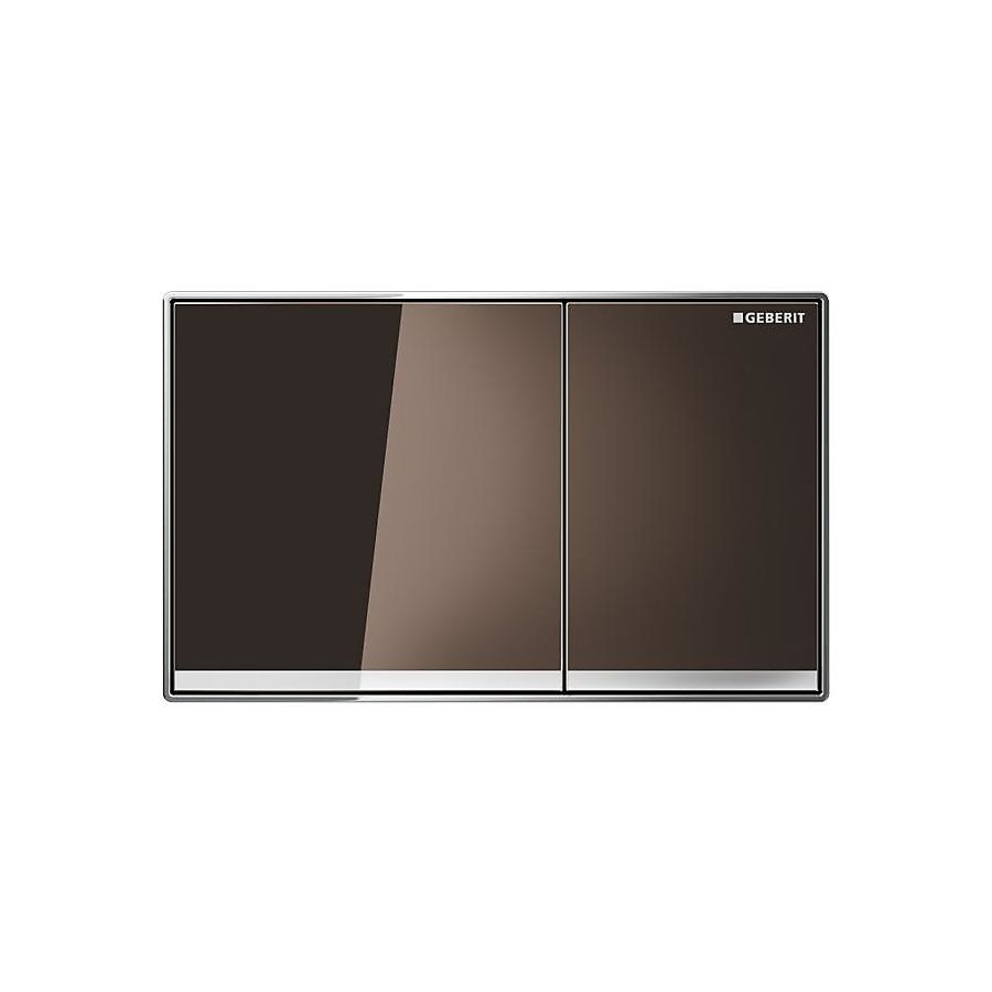 Geberit Sigma 60 Betjeningsplate Umbra glass