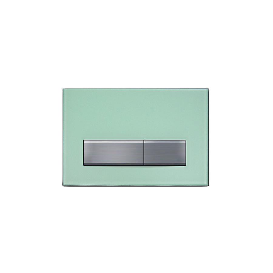 Geberit Sigma 50 Betjeningsplate Grønnsatinert glass