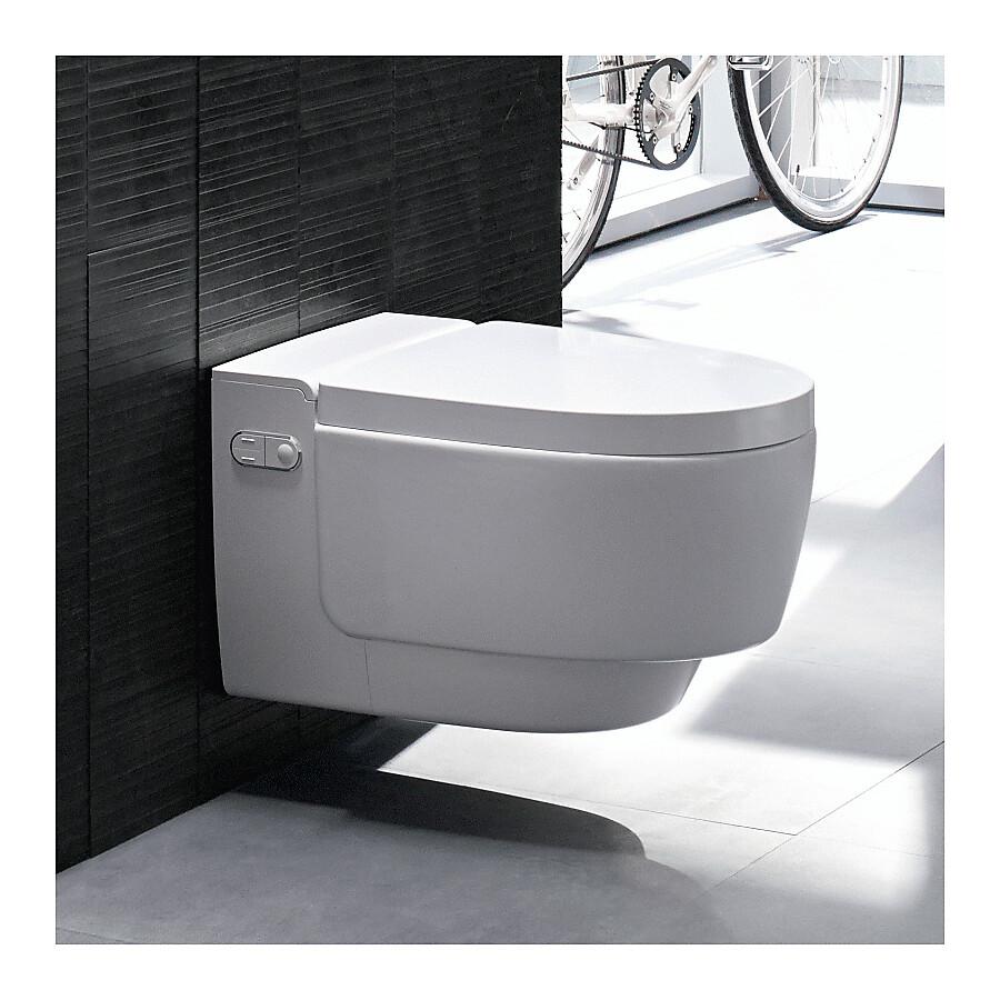 Geberit AquaClean Mera Comfort Vegghengt spyletoalett Hvit/Hvit