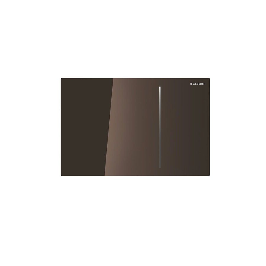 Geberit Sigma 70 Betjeningsplate Umbra glass