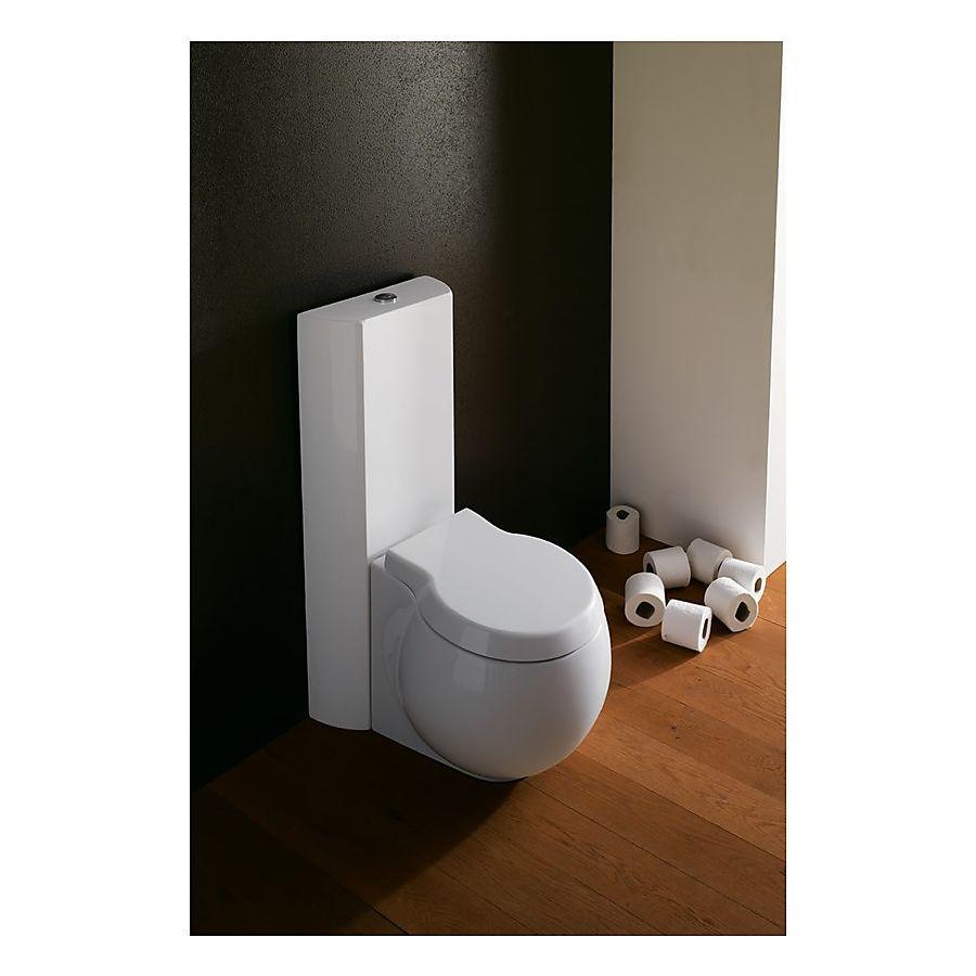 Scarabeo Planet Gulvstående toalett 645x360 mm Hvit