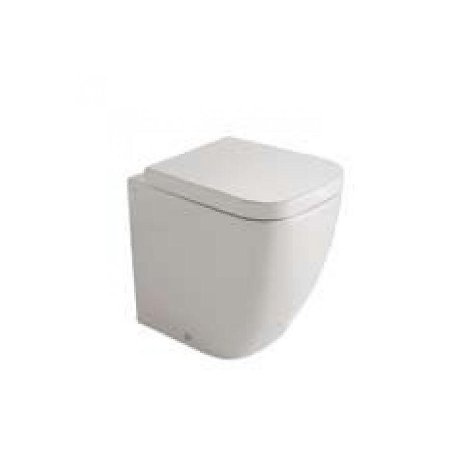 Globo Stone Gulvstående toalett 450x360 mm compact modell Hvit
