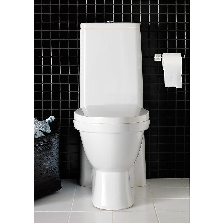 Hafa Kioto Gulvstående toalett Med myktlukkende sete og lokk