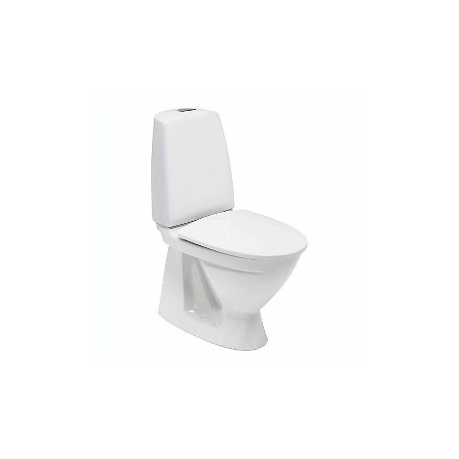 Ifø Sign 6840 Gulvstående toalett 650x355 mm Med Ifø clean Hvit
