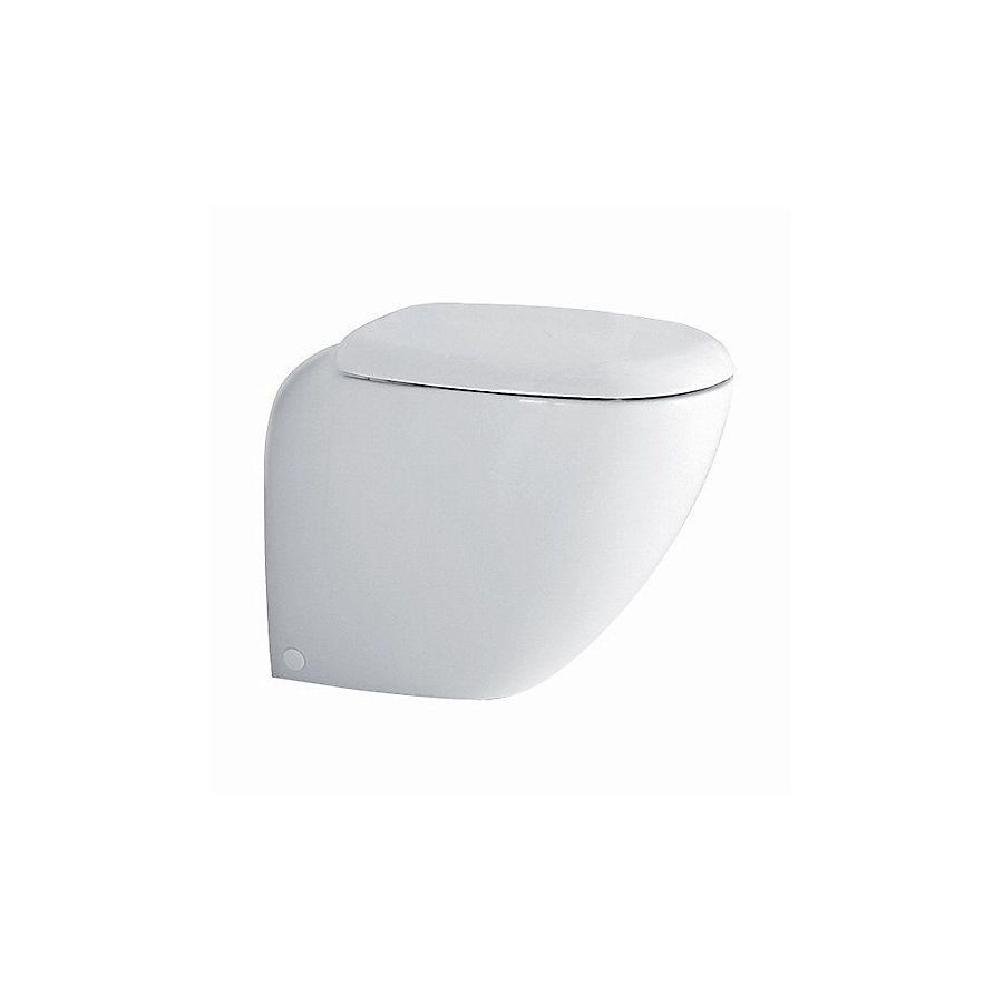 Porsgrund Easy 74721 Gulvstående toalett 350x570 mm Med myktlukkende sete/lokk