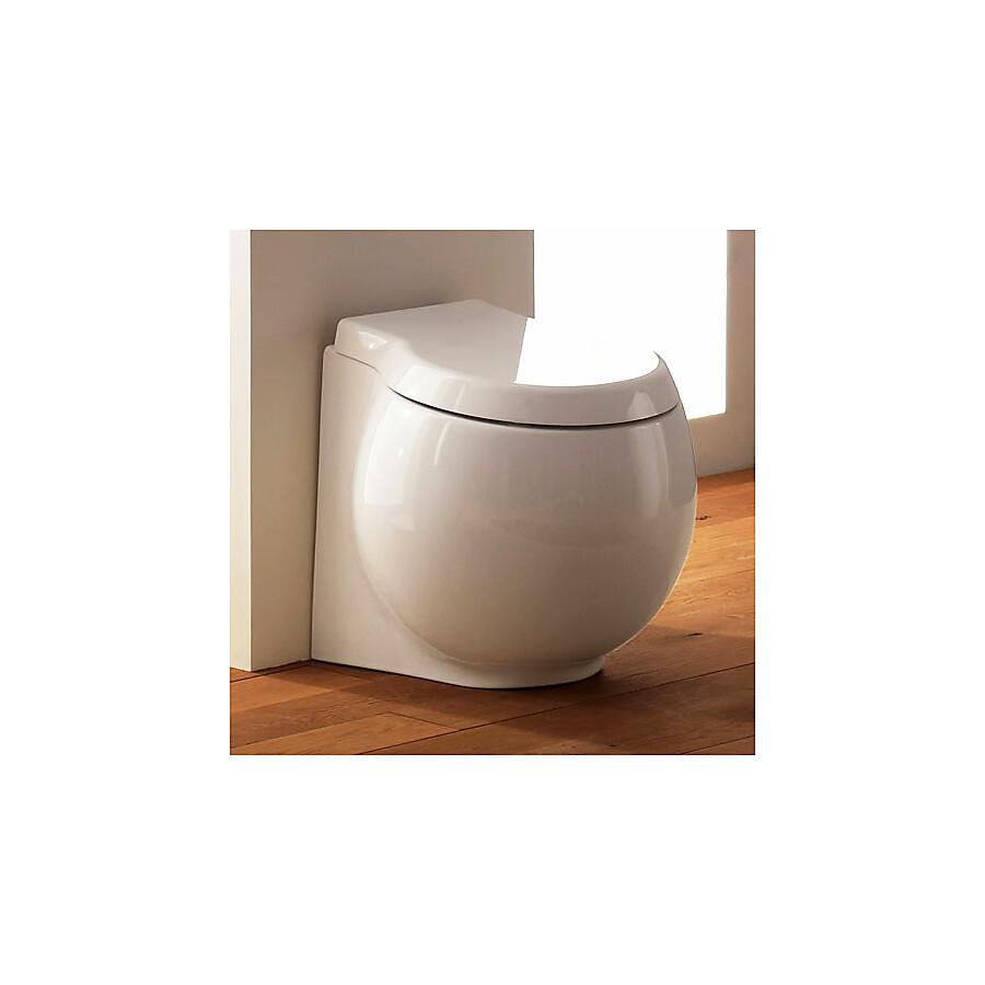 Scarabeo Planet Gulvstående toalett 500x450 mm. Hvit