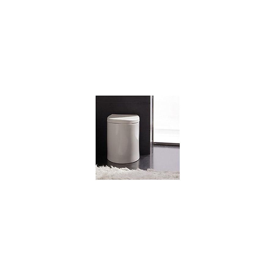 Scarabeo Zefiro Gulvstående toalett 525x350 mm. Sort