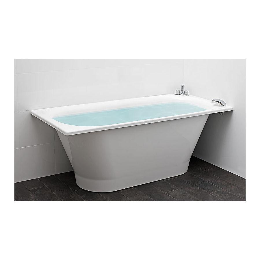 Svedbergs Square Frittstående badekar 1580x700 mm Uten armatur
