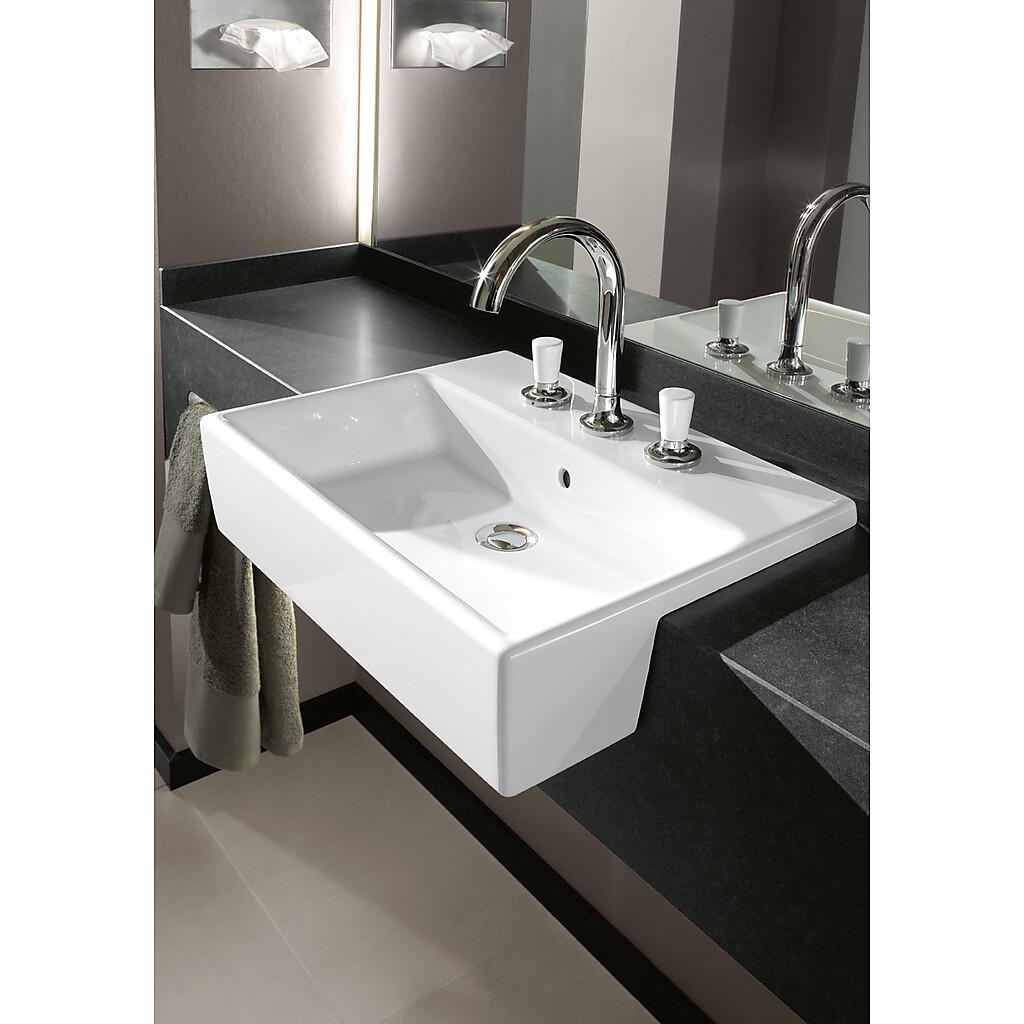 Inredning tvättställ med pelare : Villeroy & Boch | VVSklippet.se