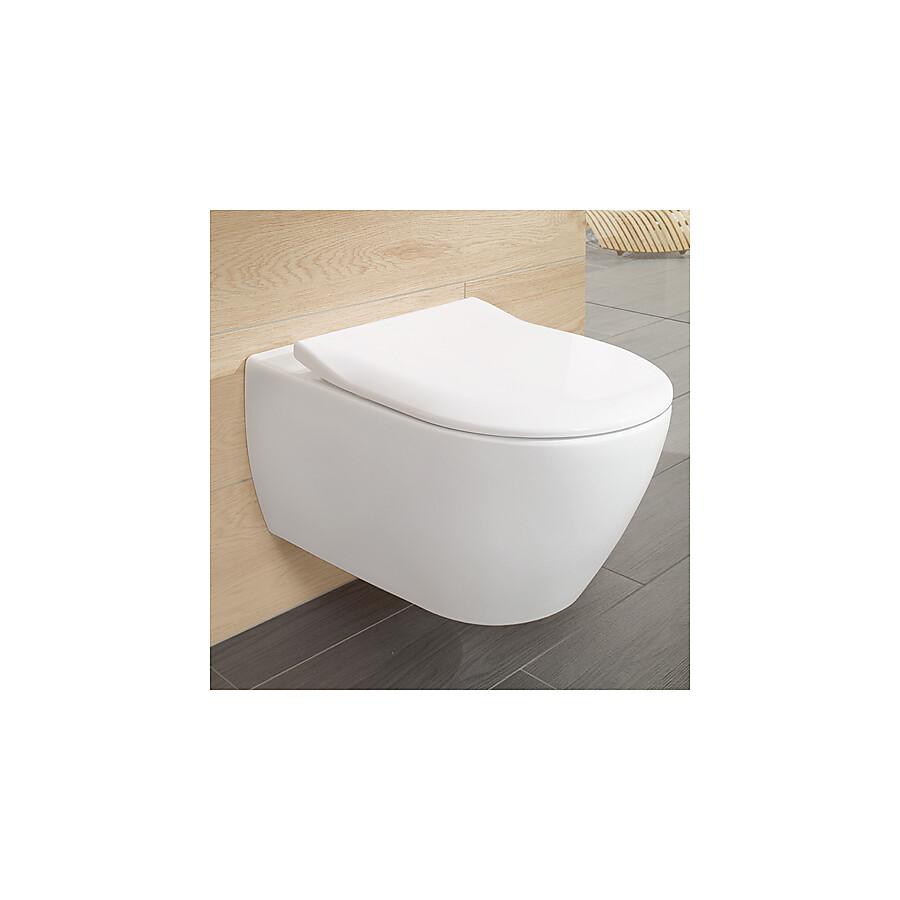 5614R201 Villeroy & Boch 6023215 V&B Subway 2.0, Vägghängd toalett Alpinvit
