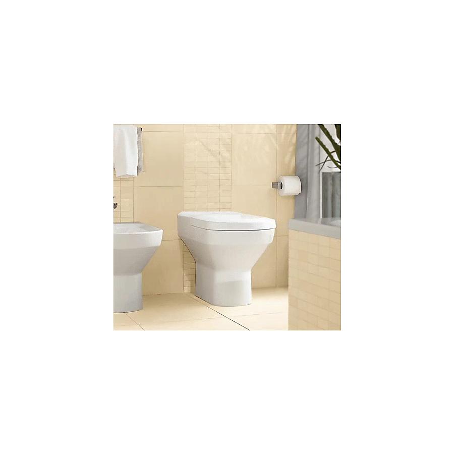 V&B Sentique Gulvstående toalett 370x560 mm m/skjult avløp.