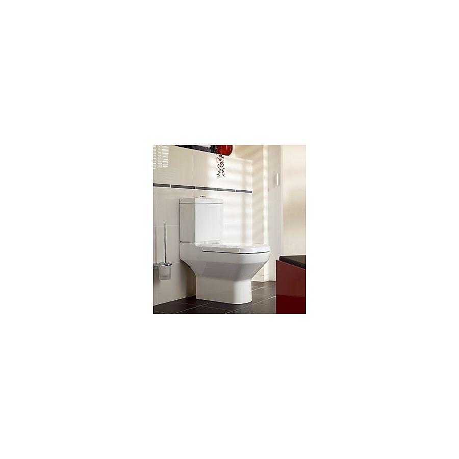 V&B Sentique Gulvstående toalett 375x695 mm m/horisontalt utløp