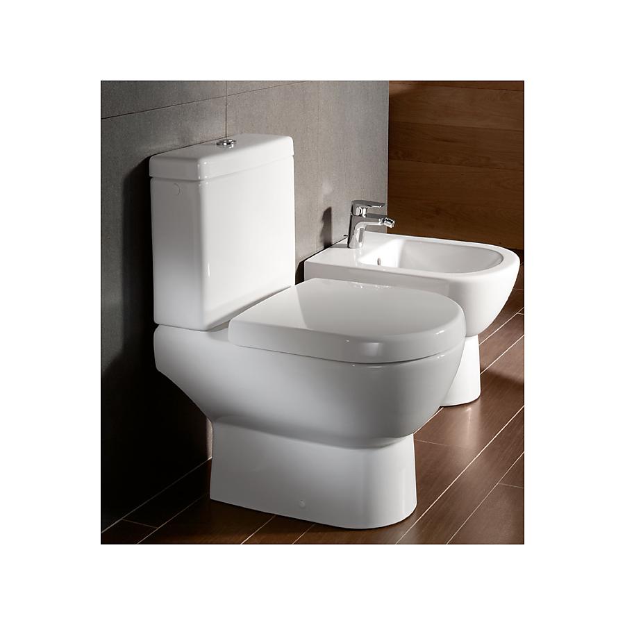 V&B Subway Gulvstående toalett 370x670 mm Alpinhvit