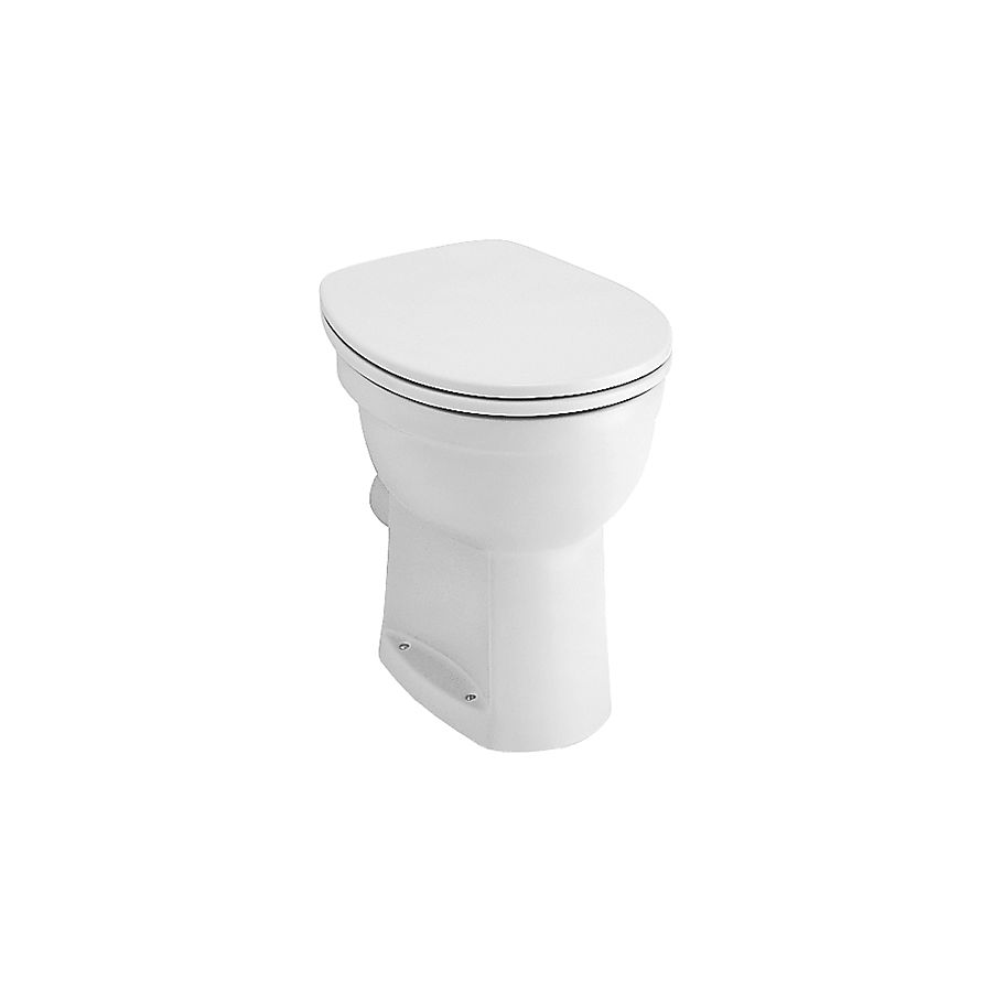 V&B Omnia Vita gulvstående toalett Alpinhvit 360x480 mm
