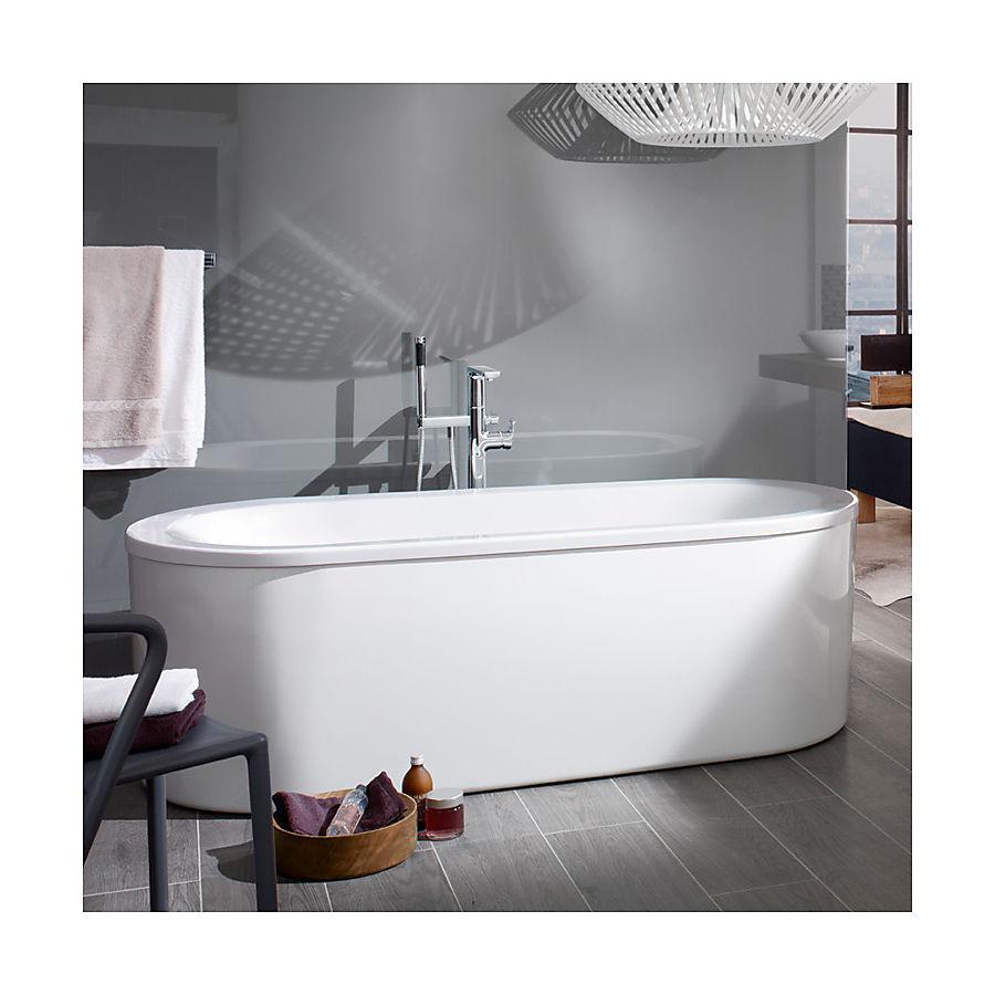 V&B Loop&Friends Frittstående badekar 1800x800 mm Inkl. paneler og bensett