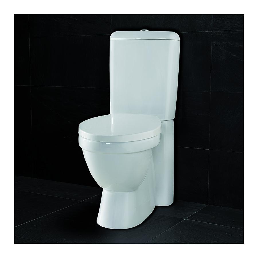 Westerbergs Ocean gulvstående toalett Med myktlukkende sete og lokk