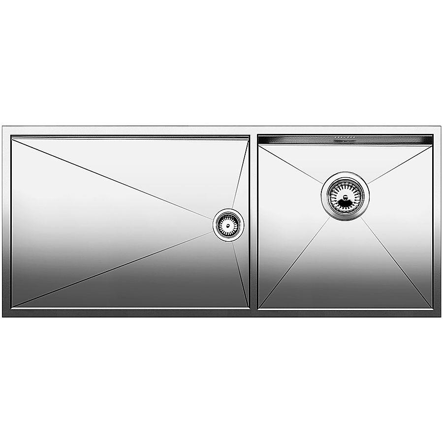 Blanco ZEROX 400/550-U kum høyre 1015 x 440 mm underliming