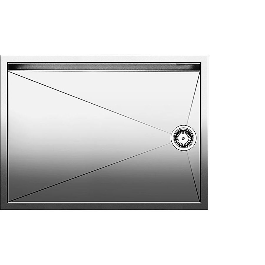 Blanco ZEROX 550T-F/U Avrennerfelt 590 x 440 mm plan-/ underliming