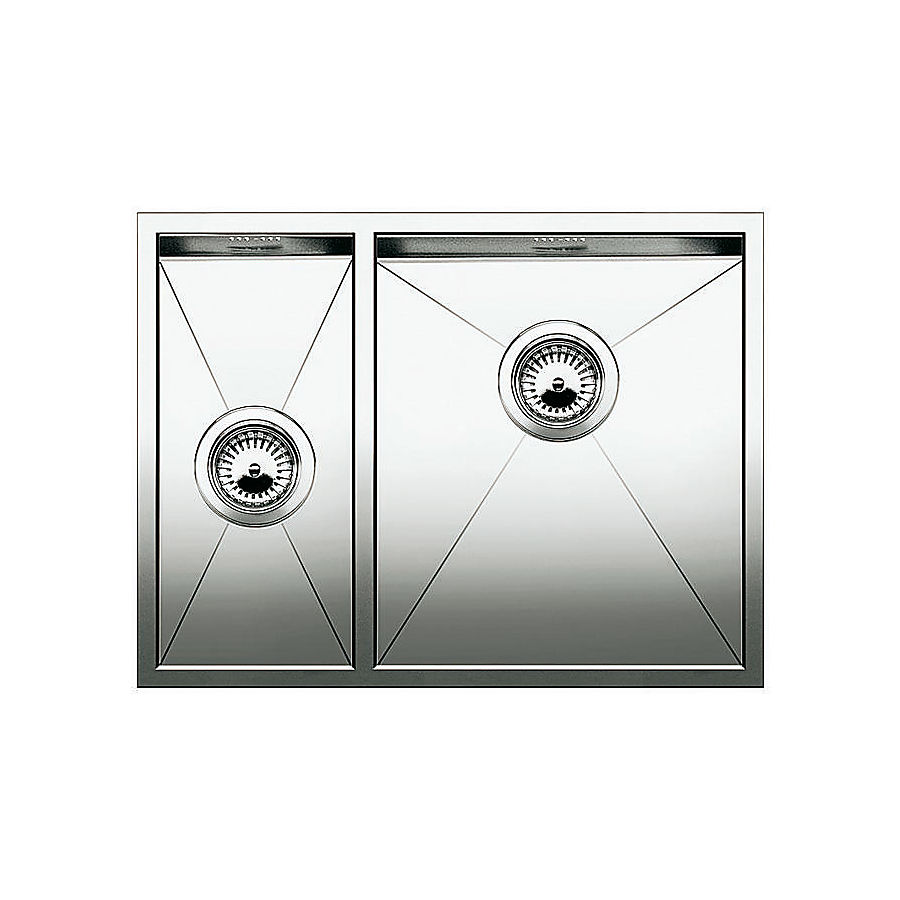 Blanco ZEROX 340/180-F/U kum høyre 585 x 440 mm plan-/ underliming