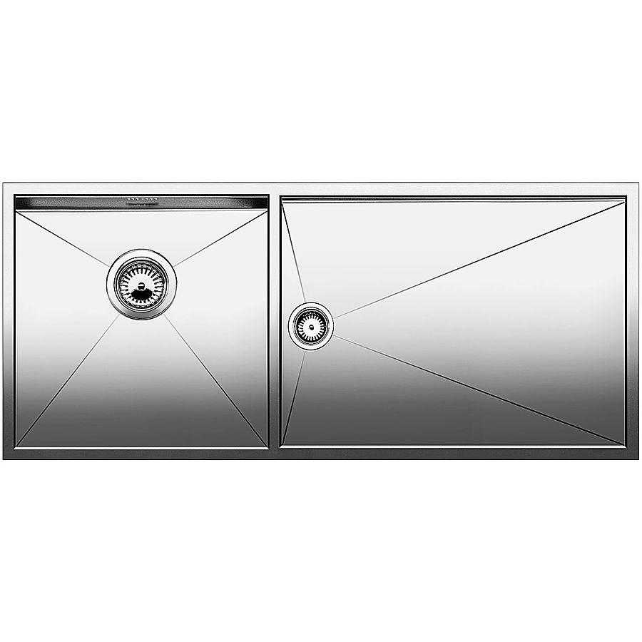 Blanco ZEROX 400/550-F/U kum venstre 1015 x 440 mm plan-/ underliming