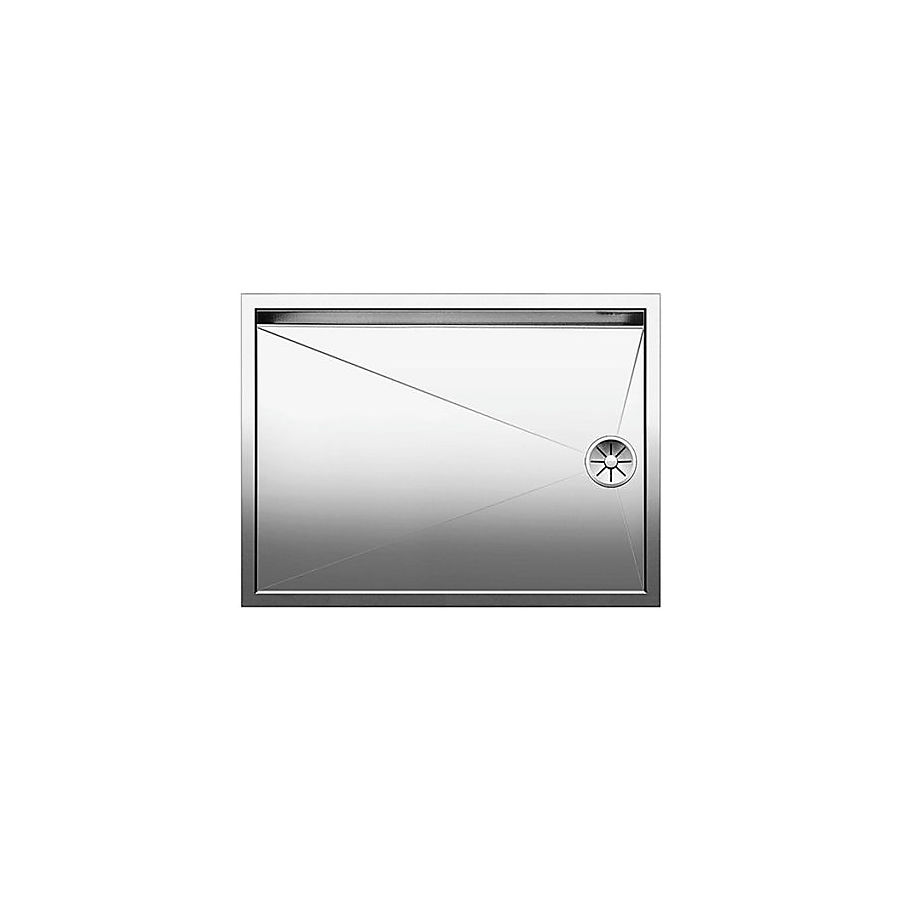 Blanco Zerox 550T-U Avrennerfelt 590x440 mm for underliming/innsveising