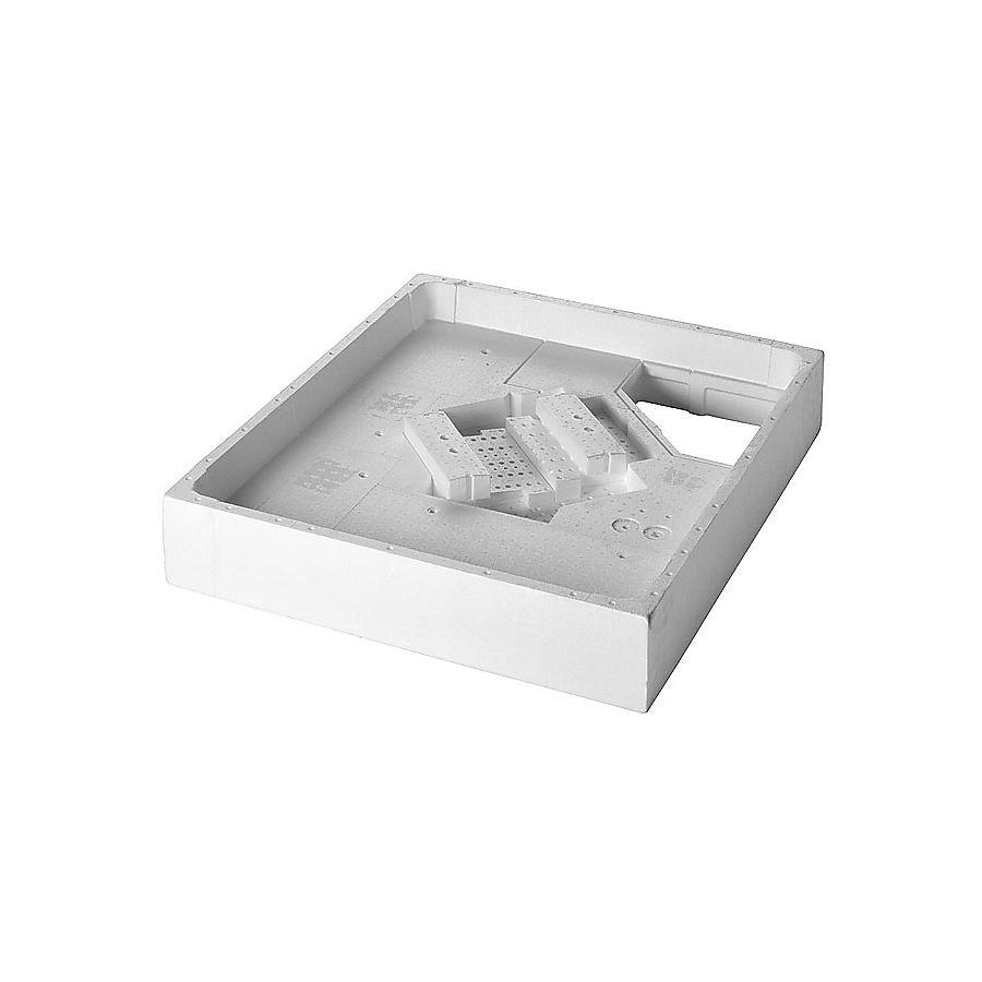 Duravit Mont.kasse for Happy D Isopor for dusjkar: 100 x 100 cm