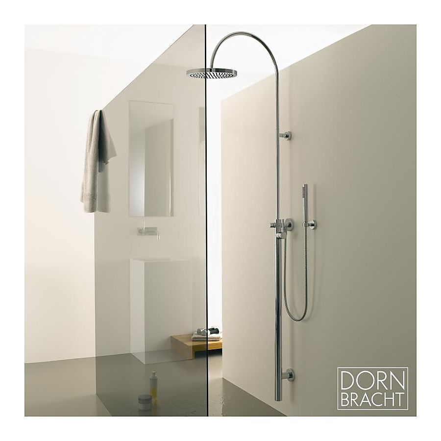 dornbracht tara logic duschsystem matt platin. Black Bedroom Furniture Sets. Home Design Ideas