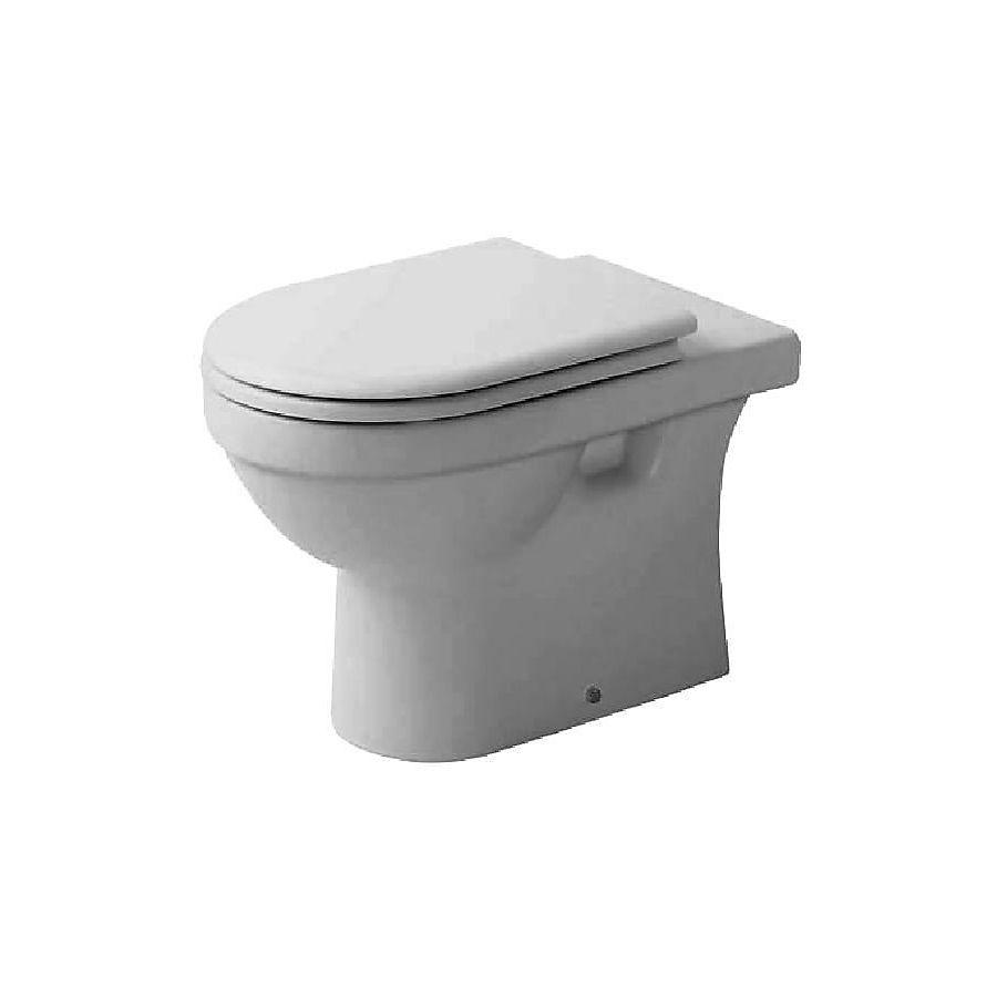 Duravit Happy D Gulvstående toalett 360x570 mm Universalt avløp