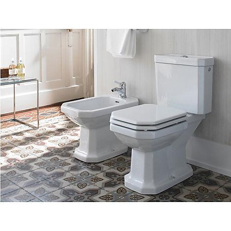 0227010000 Duravit  Duravit Serie 1930 Golvstående toalett 355x665 mm, Vit