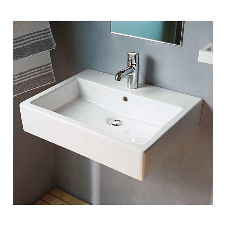 M Bel F R Ankleidezimmer duravit vero tvättställ 500x470 mm 1 blandarhål vvsklippet se