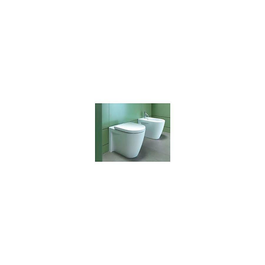 Duravit Starck 2 Gulvstående toalett 370x570 mm Hvit