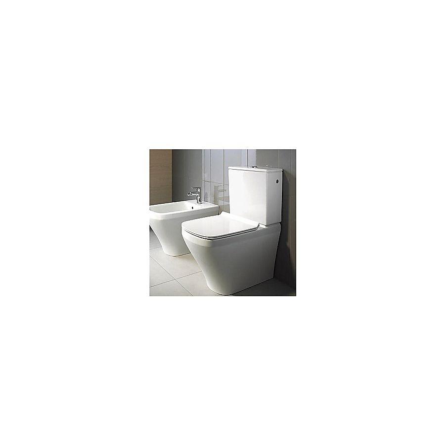 Duravit Durastyle Gulvstående toalett Med sisterne og myktlukkende sete/lokk