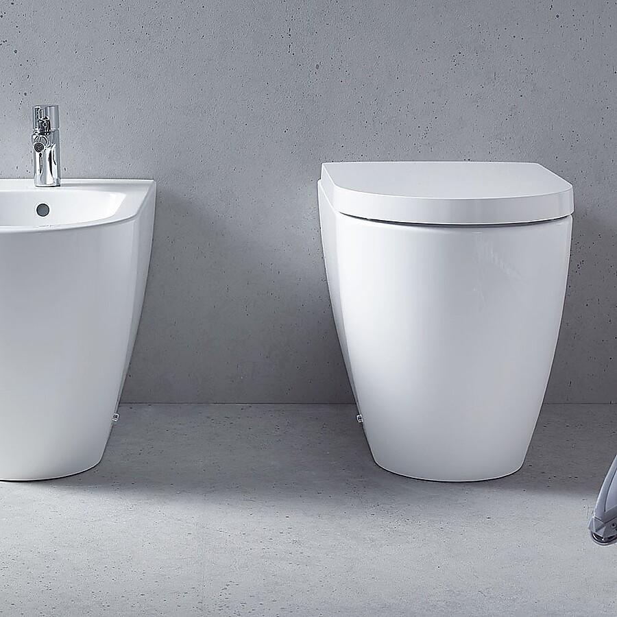 Duravit ME By Starck Gulvstående toalett 370x600 mm.