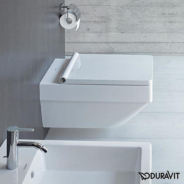 duravit vero air vegghengt toalett 370x570 mm. Black Bedroom Furniture Sets. Home Design Ideas