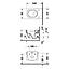 2534090000 Duravit  Duravit Starck 2 Vägghängd toalett 365x540 mm, Vit