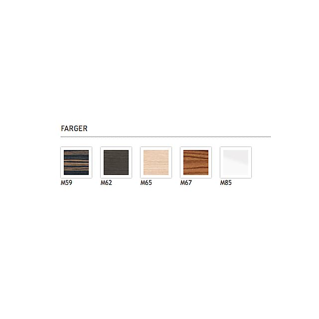 2F856C06565#1400 Duravit  Duravit 2nd Floor Bänkskiva, 1400 mm 1400x550x80 mm, Ljus Ek, träfanér