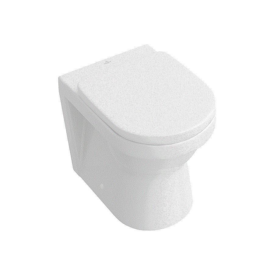 V&B Architectura Gulvstående toalett 370x560 mm Alpinhvit Ceramic Plus