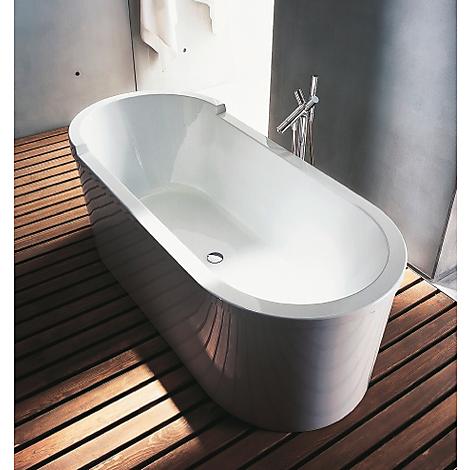 duravit starck frist ende badkar 1800x800 mm med panel och benstativ. Black Bedroom Furniture Sets. Home Design Ideas