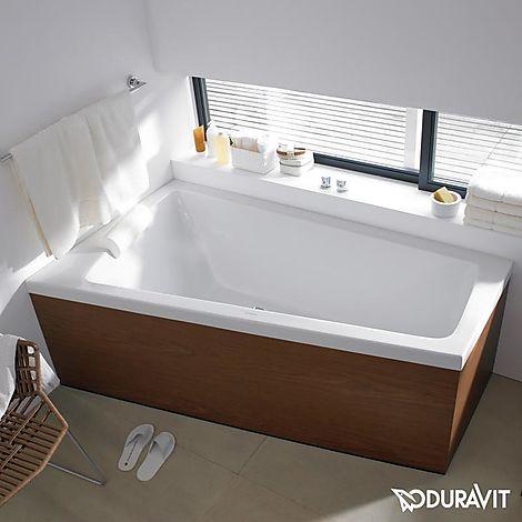 700222000000000 Duravit  Duravit Paiova Badkar för möbelpanel 1800x1400 mm, Vänster hörn