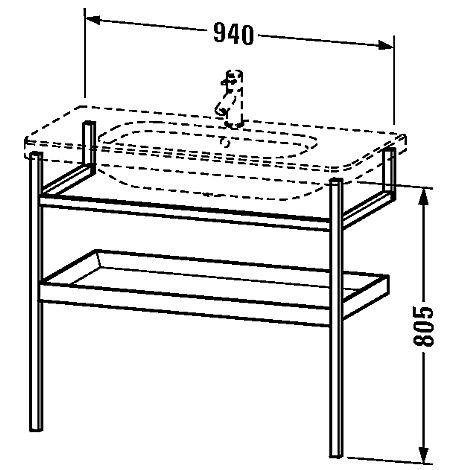 duravit durastyle tv ttst llm bel m 1 hy 940x805 mm amerikanskt valn t vit matt. Black Bedroom Furniture Sets. Home Design Ideas