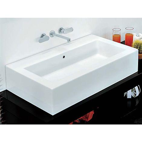 Flaminia acquagrande servant 1000x550 mm hvit - Galvan mobili bagno ...