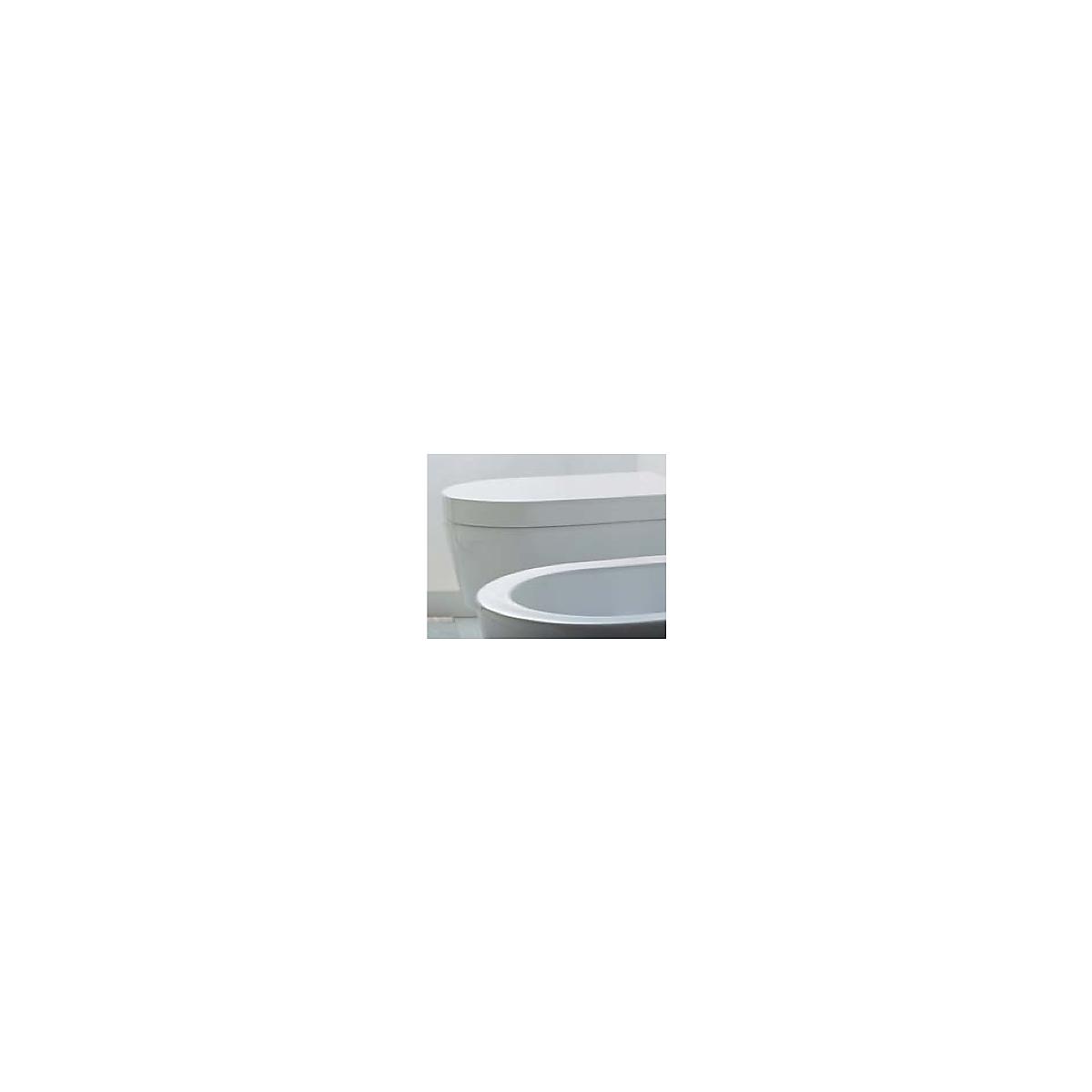 5051CW02 Flaminia  Flaminia Link Toalettsits/lock Utan mjukstängande gångjärn, Vit