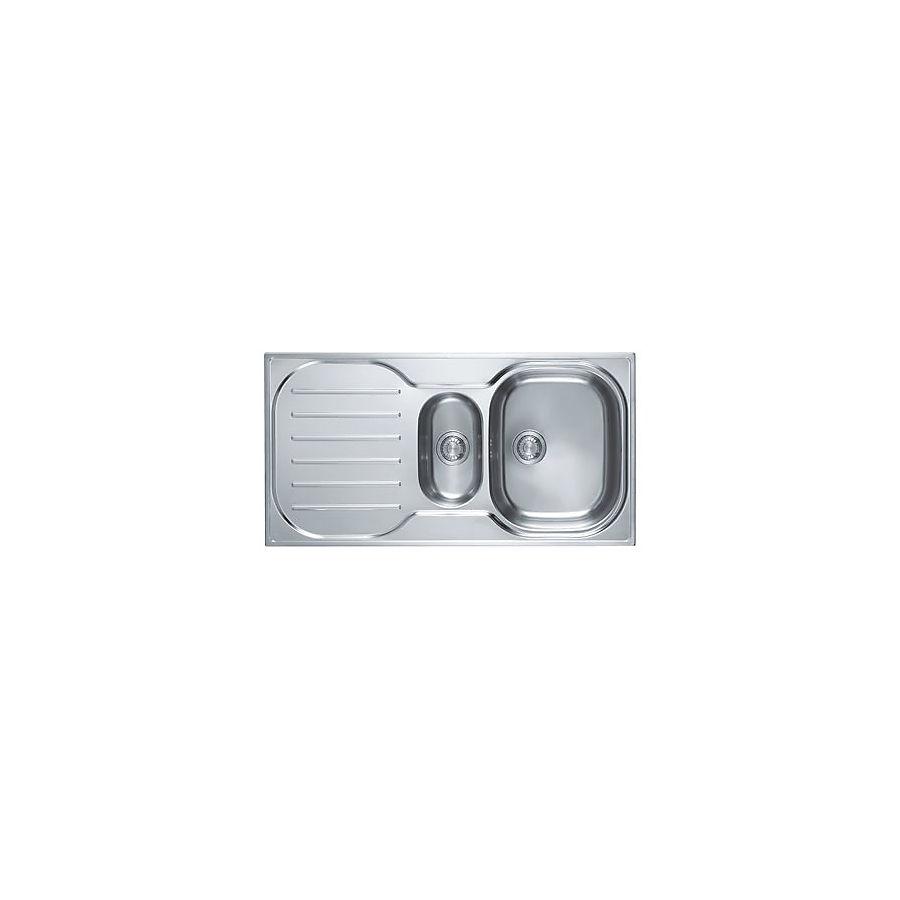 Franke Compact CPX P 651 Kjøkkenkum 965x500 mm For nedfelling/underliming