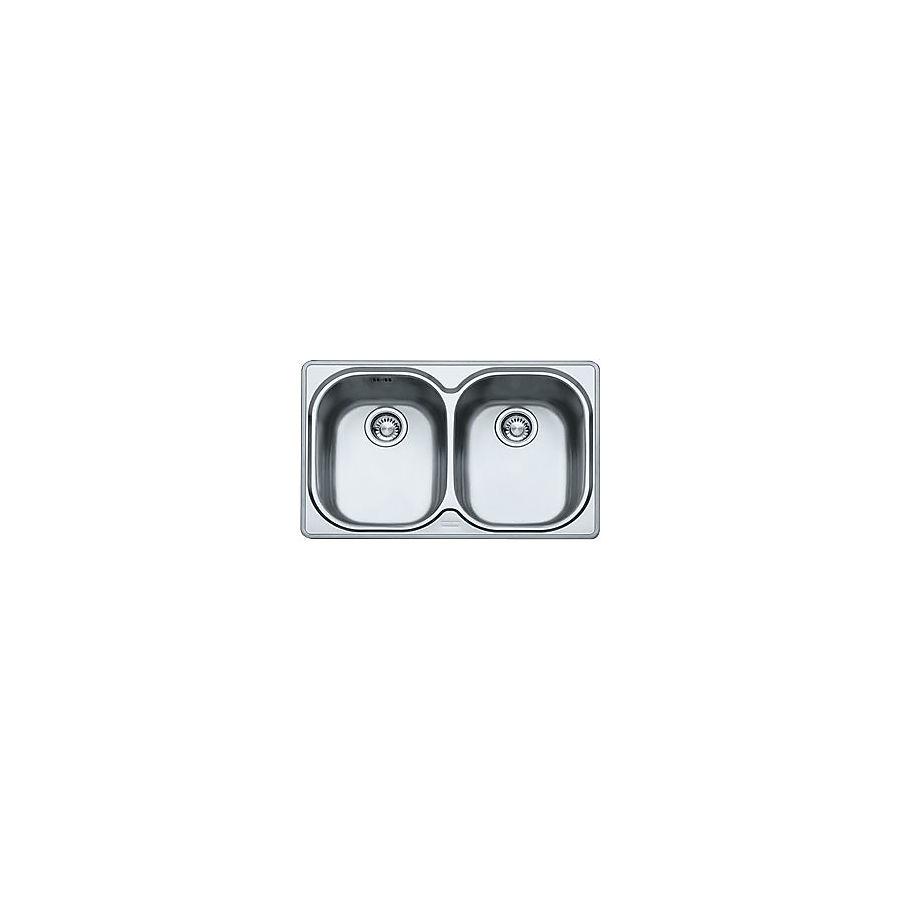 Franke Compact CPX P 620 Kjøkkenkum 780x500 mm For nedfelling/underliming